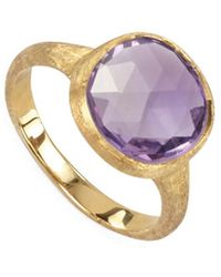 Marco Bicego - Jaipur 18k Amethyst Cocktail Ring - Lyst