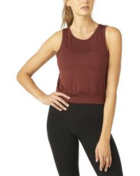 Beyond Yoga - Sunny Cropped Tank - Lyst