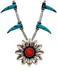 Gucci Silver Necklace - Metallic
