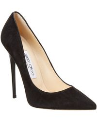 Jimmy Choo - Anouk 120 Suede Pointy-toe Pump - Lyst