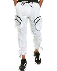 American Stitch Double Pocket Jogger - White