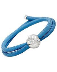 De Grisogono Certified 18k 0.60 Ct. Tw. Diamond Wrap Bracelet - Blue