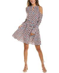 Maje Ralinka Mini Dress - Multicolour