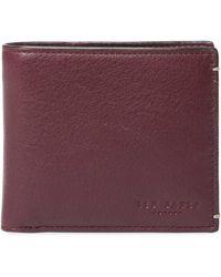 Ted Baker - Colour Coin Bi-fold Wallet - Lyst