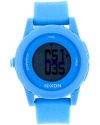 Nixon Unisex Genie Watch - Blue