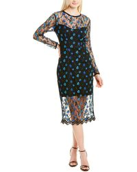 Dress the Population Sophia Gown - Blue