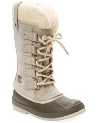 Sorel - Joan Of Arctic Shearling Leather Boot - Lyst
