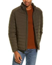 Cole Haan Quilted Jacket - Green