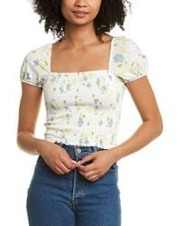 French Connection Shanti Top - White