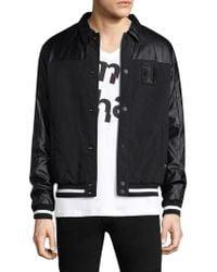 Armani Exchange - Spread Collar Varisty Jacket - Lyst