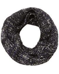 Genie by Eugenia Kim Lane Knit Infinity Scarf - Blue