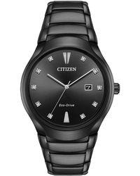Citizen Men's Stainless Steel Watch - Black