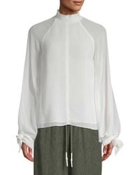 Camilla & Marc - Noelle Shirred Blouse - Lyst