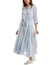 Equipment Jacquot Dress - Blue