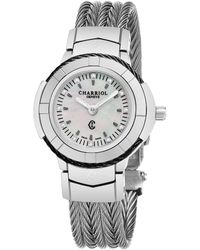 Charriol Celtica Quartz Diamond Ladies Watch - Metallic