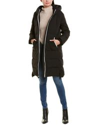 Sam Edelman Maxi Puffer Coat - Black