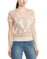 Wildfox Bloom Edita Sweater - Natural
