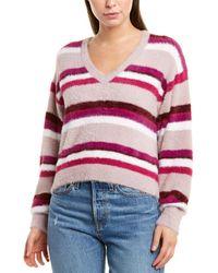 Splendid Fuzzy Sweater - Purple