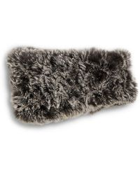 Saks Fifth Avenue Knitted Rabbit Fur Headband - Multicolour