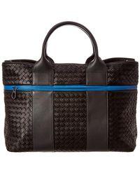 Bottega Veneta - Intrecciato Leather Tote - Lyst
