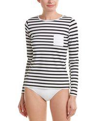 Spanx ? Stripe Sun Shirt - Black