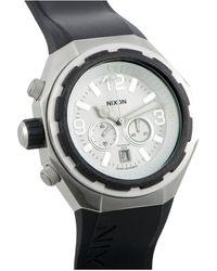 Nixon Leather Watch - Black