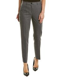 Michael Kors Wool-blend Pant - Gray