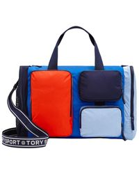 Tory Sport Packable Gym Satchel - Blue