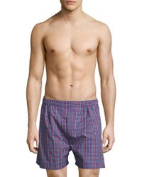 Brooks Brothers - Cotton Printed Boxers - Lyst