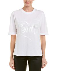 Fendi Crew T-shirt - White