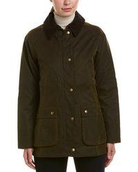 Barbour Acorn Wax Jacket - Green