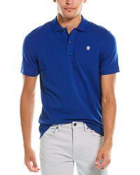 G-Star RAW Raw Dunda Slim Polo Shirt - Blue