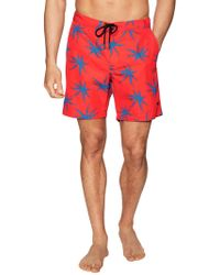 Marc By Marc Jacobs - Woven Printed Swim Trunks - Lyst