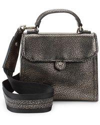 Liebeskind Berlin - Textured Leather Crossbody Bag - Lyst