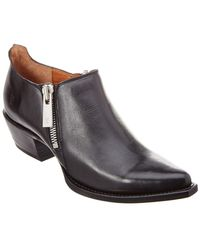 Frye - Sacha Leather Bootie - Lyst