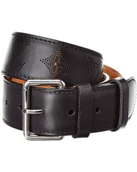 Louis Vuitton Black Mahina Leather Centure Belt, Size 90