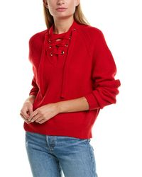 Zadig & Voltaire Kassy Wool-blend Jumper - Red