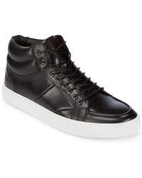 Zanzara - Leather High-top Trainers - Lyst