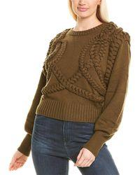 Ronny Kobo Yeva Wool-blend Jumper - Multicolour