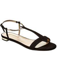 Aquazzura - Vogue Flat Sandals - Lyst