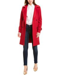 Cinzia Rocca Medium Trench Coat - Pink