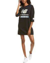 New Balance Ess Sweatshirt Dress - Black