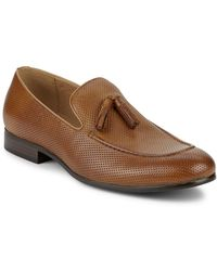 Saks Fifth Avenue - Lawson Perforated Tassel Loafers - Lyst