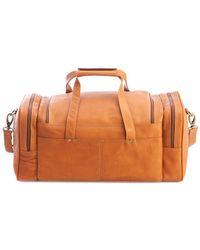 Royce - Colombian Leather Overnight Duffel Bag - Lyst