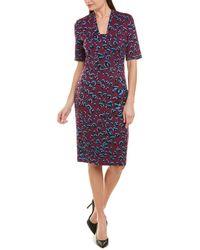ESCADA Sheath Dress - Purple