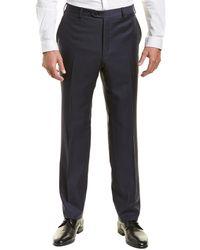 Brioni - Flat Front Wool Trouser - Lyst