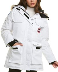 Canada Goose Pbi Expedition Down Parka - White