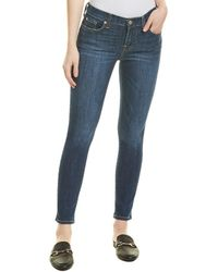 7 For All Mankind 7 For All Mankind Gwenevere Caribbean High-rise Ankle Cut - Blue