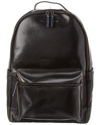 Robert Graham Helio Leather Backpack - Black