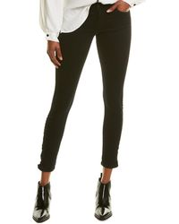Siwy Hannah Starless Nights Signature Skinny Leg Jean - Black